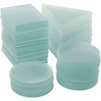 Glasplatta, tjocklek 3 mm, 3x30 st./ 1 låda