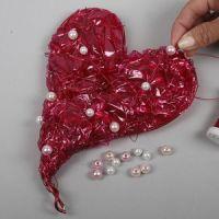 Hjärta av cellofan