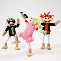 Rockstjärnor av Flexi figurer och Silk Clay