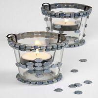 Ljusglas med mosaik