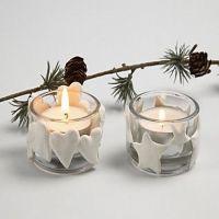 Ljushållare med Silk Clay