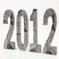 Dekoration till nyårsdukningen