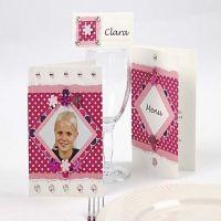 Rosa Color Bar kort
