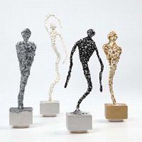 Silk Clay skulpturer på fot