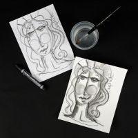 Lyra Grafit akvarellstift