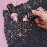 3D-Liner på jeans