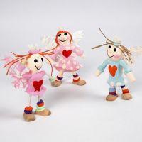 Ängel av Flex-figurer med Silk Clay
