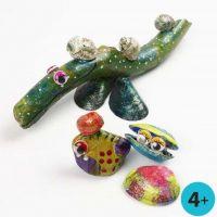 A-Color Glass på naturmaterial