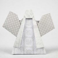 Vikt ängel i designpapper från Vivi Gade