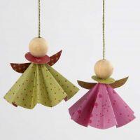 Ängel i origamipapper från Vivi Gade