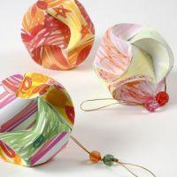 Click Ornament dekorerad med tusch
