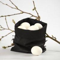 Påse till ägg - sydd av imiterat tyg