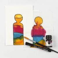 Att måla med flytande akvarell