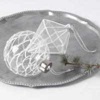 Glasdekorationer med 3D-effekt