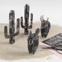 Kaktus av designpapper från Vivi Gade