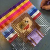 Pixel Art med rörpärlor