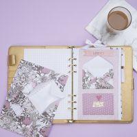 Kuvert till förvaring av små föremål till Bullet journal och planner
