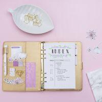 Indexsida till Bullet journal och kalender
