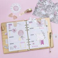 Dekorera en 5-veckors plan till din Bullet journal och kalender