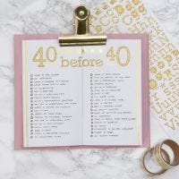 Bucket lista i din Bullet journal