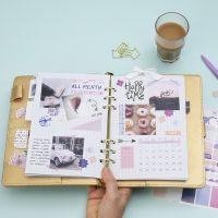 Månadsöversikt i din Bullet journal
