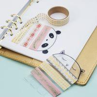 Washitejphållare av hårdfolie till din bullet journal