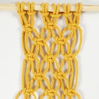 Så här knyter du vad som kallas alternating square Knot