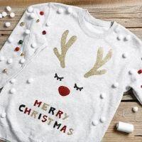 Kul jultröja med bjällerklang