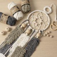 Makramé för nybörjare: Lär dig att knyta makramé