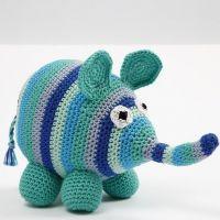 Virkad elefant